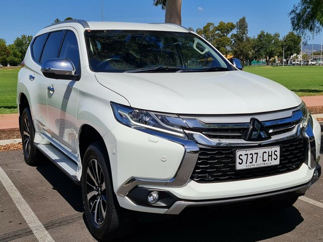 Used Mitsubishi Pajero Sport QE MY17 Exceed Nailsworth, 2017 Mitsubishi Pajero Sport QE MY17 Exceed White 8 Speed Sports Automatic Wagon