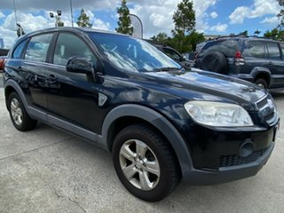 2009 Holden Captiva CG MY09 SX AWD Black 5 Speed Sports Automatic Wagon.