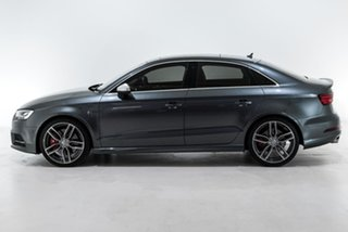2016 Audi S3 8V MY17 S Tronic Quattro Grey 7 Speed Sports Automatic Dual Clutch Sedan