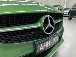 2015 Mercedes-Benz A-Class W176 806MY A180 D-CT Green 7 Speed Sports Automatic Dual Clutch Hatchback