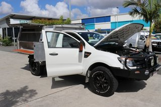 2013 Ford Ranger PX XL White 6 speed Automatic Cab Chassis