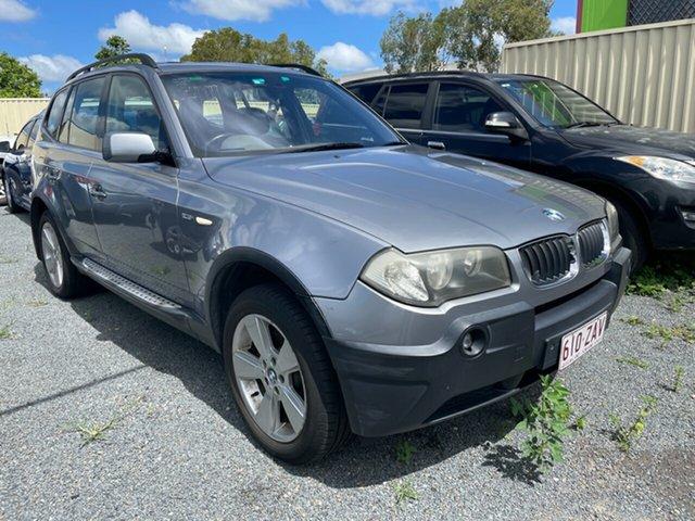 Used BMW X3 E83 2.5I Underwood, 2004 BMW X3 E83 2.5I Grey 5 Speed Auto Steptronic Wagon