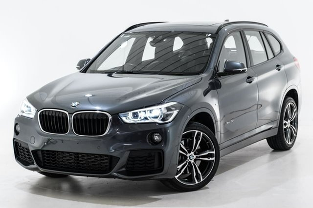 Used BMW X1 F48 sDrive20i DCT Steptronic Berwick, 2017 BMW X1 F48 sDrive20i DCT Steptronic Grey 7 Speed Sports Automatic Dual Clutch Wagon