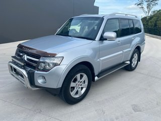 2006 Mitsubishi Pajero NS VR-X Silver 5 Speed Sports Automatic Wagon.