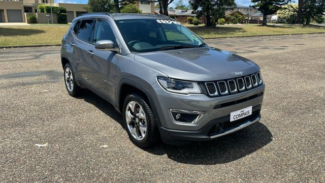 New Jeep Compass M6 MY20 Limited Port Macquarie, 2020 Jeep Compass M6 MY20 Limited Grey Magnesio 9 Speed Automatic Wagon