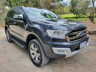 2018 Ford Everest UA Titanium Grey Sports Automatic SUV.