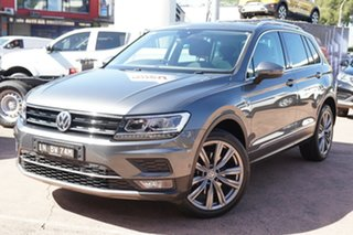 2018 Volkswagen Tiguan 5NA MY18 162 TSI Sportline Grey 7 Speed Auto Direct Shift Wagon.