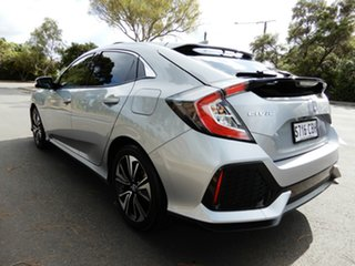 2019 Honda Civic 10th Gen MY19 VTi-LX Silver 1 Speed Constant Variable Hatchback