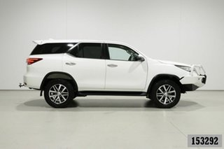 2018 Toyota Fortuner GUN156R MY18 Crusade White 6 Speed Automatic Wagon