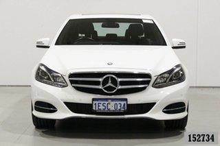 2014 Mercedes-Benz E200 212 MY14 White 7 Speed Automatic Sedan.