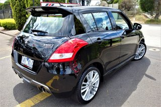 2014 Suzuki Swift FZ MY14 Sport Black 6 Speed Manual Hatchback.