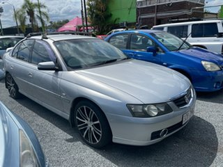 2002 Holden Calais VY Silver 4 Speed Automatic Sedan.