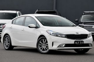 2017 Kia Cerato YD MY17 S White 6 Speed Sports Automatic Sedan.