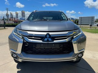 2018 Mitsubishi Pajero Sport QE MY18 Exceed Grey/290318 8 Speed Sports Automatic Wagon