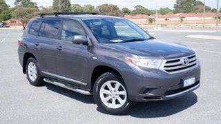 2010 Toyota Kluger GSU40R MY11 KX-R 2WD Grey 5 Speed Sports Automatic Wagon.