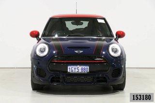 2018 Mini 3D Hatch F56 MY18 John Cooper Works Blue 8 Speed Automatic Hatchback.