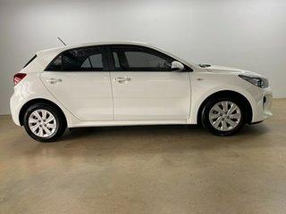 2019 Kia Rio YB MY20 S White 4 Speed Automatic Hatchback.