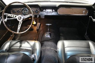 1966 Ford Mustang Silver 3 Speed Automatic Hardtop