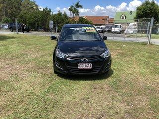 2012 Hyundai i20 PB MY12 Active Black 5 Speed Manual Hatchback.