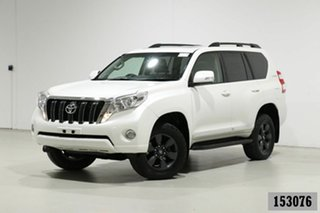 2015 Toyota Landcruiser Prado KDJ150R MY14 Altitude (4x4) White 5 Speed Sequential Auto Wagon.