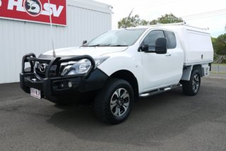 2016 Mazda BT-50 UR0YG1 XT Freestyle White 6 Speed Sports Automatic Cab Chassis