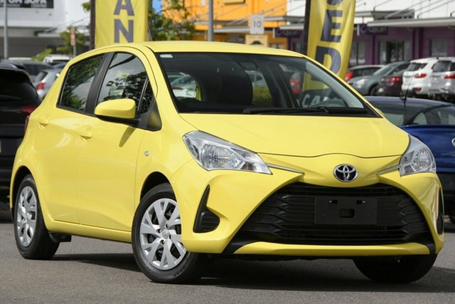 Used Toyota Yaris NCP130R Ascent Windsor, 2017 Toyota Yaris NCP130R Ascent Yellow 4 Speed Automatic Hatchback
