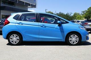 2014 Honda Jazz Vibe Hyper Blue 5 Speed Automatic Hatchback