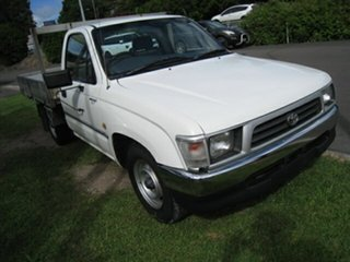 1998 Toyota Hilux RZN149R White 5 Speed Manual Pickup