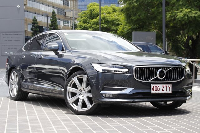 Used Volvo S90 P Series MY17 D5 Geartronic AWD Inscription Newstead, 2016 Volvo S90 P Series MY17 D5 Geartronic AWD Inscription Grey 8 Speed Sports Automatic Sedan