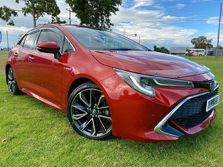 2019 Toyota Corolla ZWE211R ZR E-CVT Hybrid Red 10 Speed Constant Variable Hatchback Hybrid.