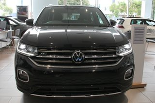 2020 Volkswagen T-Cross C1 MY21 85TSI DSG FWD Style Black 7 Speed Sports Automatic Dual Clutch Wagon.