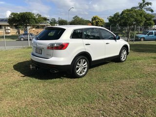 2010 Mazda CX-9 TB10A3 MY10 Luxury White 6 Speed Sports Automatic Wagon