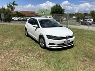 2020 Volkswagen Polo 85TSI  Comfortline White Automatic Hatchback.