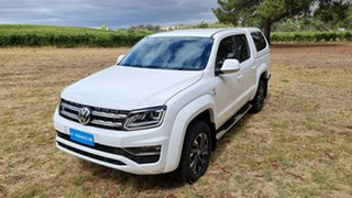 2020 Volkswagen Amarok 2H MY20 TDI580 4MOTION Perm Highline White 8 Speed Automatic Utility
