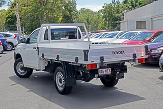 2015 Toyota Hilux GUN125R Workmate White 6 Speed Sports Automatic Cab Chassis.