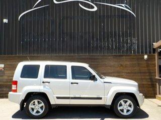2012 Jeep Cherokee KK MY12 Sport 4x2 Silver 4 Speed Automatic Wagon.