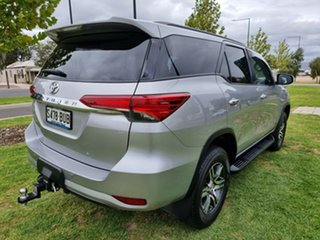 2018 Toyota Fortuner GUN156R GXL Silver 6 Speed Automatic Wagon.