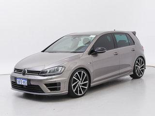 2014 Volkswagen Golf AU MY14 R Grey 6 Speed Direct Shift Hatchback.