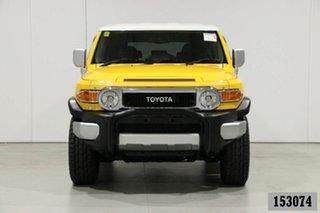 2011 Toyota FJ Cruiser GSJ15R Yellow 5 Speed Automatic Wagon.