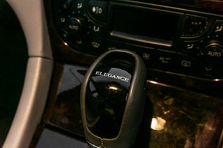 2003 Mercedes-Benz C-Class W203 MY2003 C180 Kompressor Elegance Silver 5 Speed Automatic Sedan