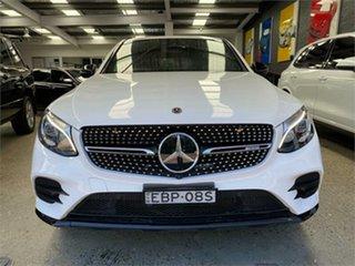 2017 Mercedes-Benz GLC-Class C253 GLC43 AMG White Sports Automatic Wagon.