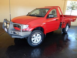 2015 Mitsubishi Triton MN MY15 GLX (4x4) Red 5 Speed Manual 4x4 Cab Chassis