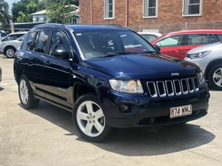 2012 Jeep Compass MK MY12 Limited CVT Auto Stick Blue 6 Speed Constant Variable Wagon.