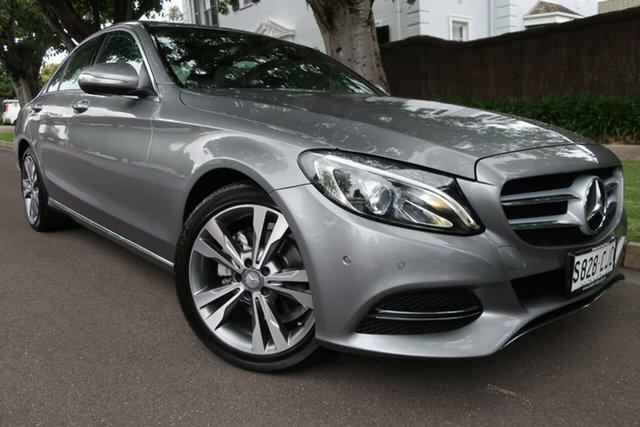 Used Mercedes-Benz C-Class W204 MY14 C200 7G-Tronic + Prospect, 2014 Mercedes-Benz C-Class W204 MY14 C200 7G-Tronic + Grey 7 Speed Sports Automatic Sedan