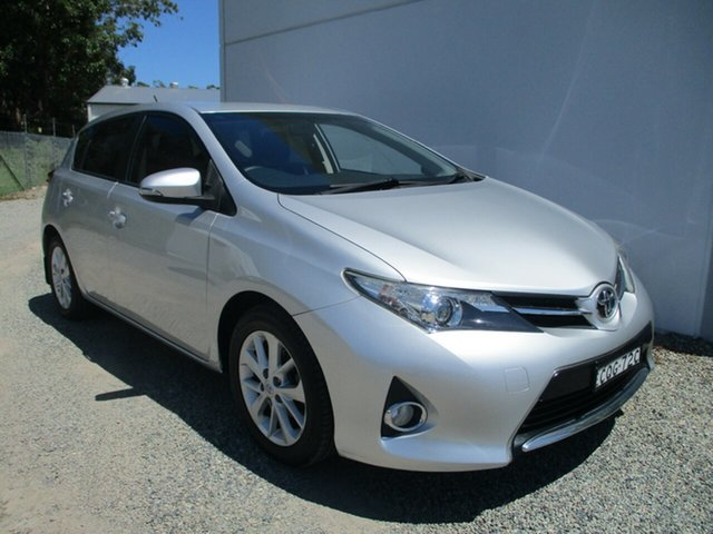 Used Toyota Corolla ZRE182R Ascent Sport Glendale, 2013 Toyota Corolla ZRE182R Ascent Sport Silver 6 Speed Manual Hatchback