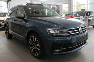 2020 Volkswagen Tiguan 162TSI Highline DSG 4MOTION Allspace Blue 7 Speed.
