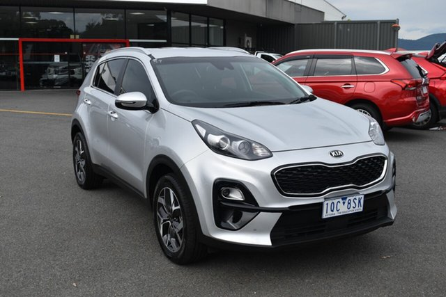Used Kia Sportage QL MY19 Si 2WD Premium Wantirna South, 2019 Kia Sportage QL MY19 Si 2WD Premium Silver 6 Speed Sports Automatic Wagon