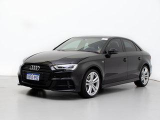 2018 Audi A3 8V MY18 2.0 TFSI Quattro S Line LE Black 7 Speed Auto S-Tronic Sedan.