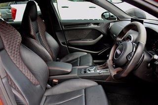 2016 Audi RS 3 8V MY16 Sportback S Tronic Quattro Orange 7 Speed Sports Automatic Dual Clutch