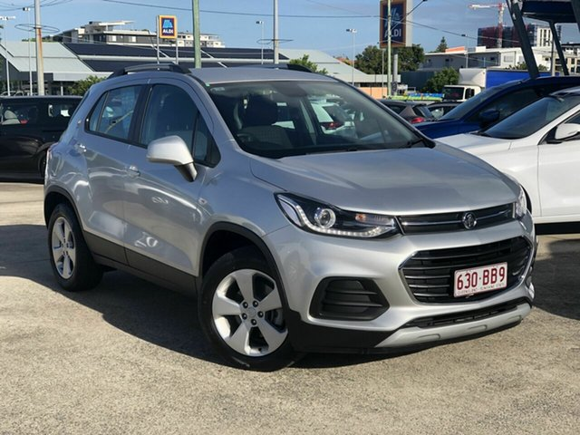 Used Holden Trax TJ MY20 LS Chermside, 2019 Holden Trax TJ MY20 LS Silver 6 Speed Automatic Wagon